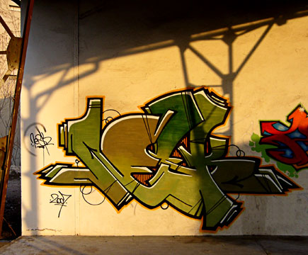 fresque graffiti atelier structure