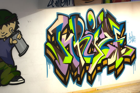 graffiti Roanne