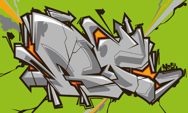 graff illustrator Ramon Pistouli